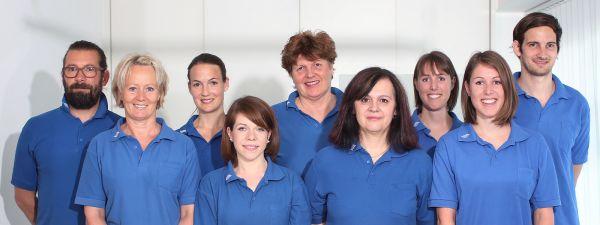 Das Team von Physionovum